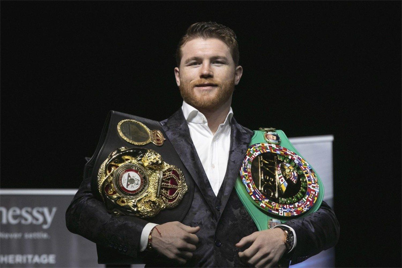 Canelo Álvarez es uno de los boxeadores más laureados en la actualidad
