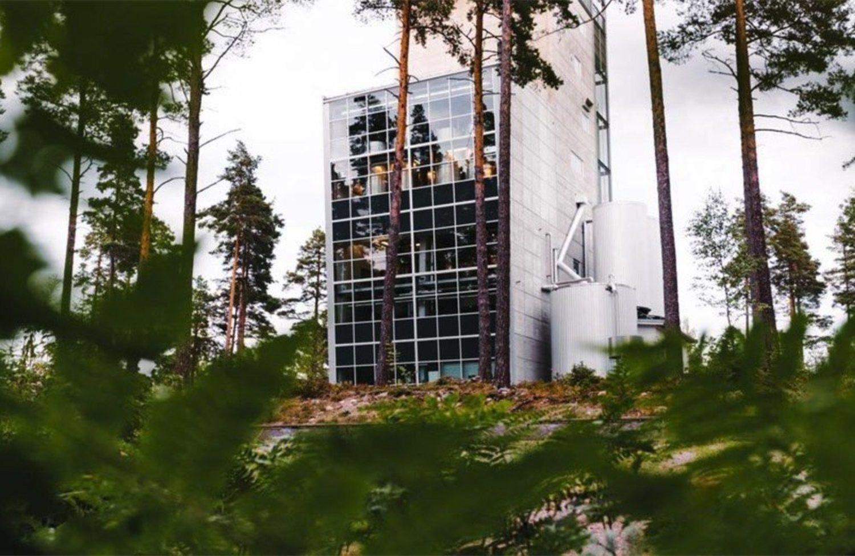 La destilería de Mackmyra se encuentra en un bosque del norte de Suecia