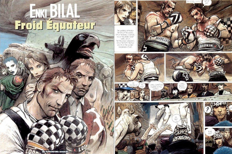 'Froid Équateur', novela gráfica de Enki Bilal, fue la inspiración de Iepe Rubingh para crear el Chess Boxing.