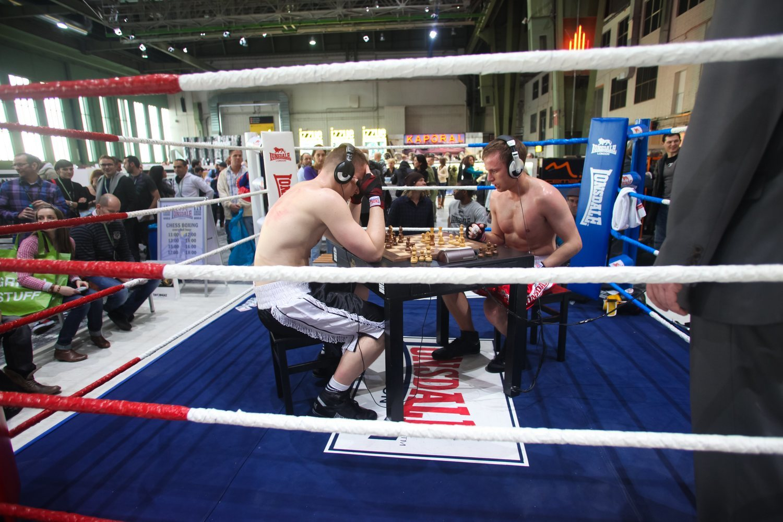 En el Chess Boxing se pone a prueba el nivel de concentración de cada luchador. Saber controlar los ritmos es clave.