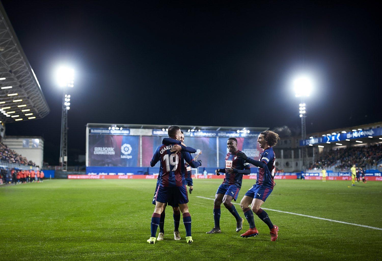 La magia de Ipurua, fundamental en los éxitos del equipo.