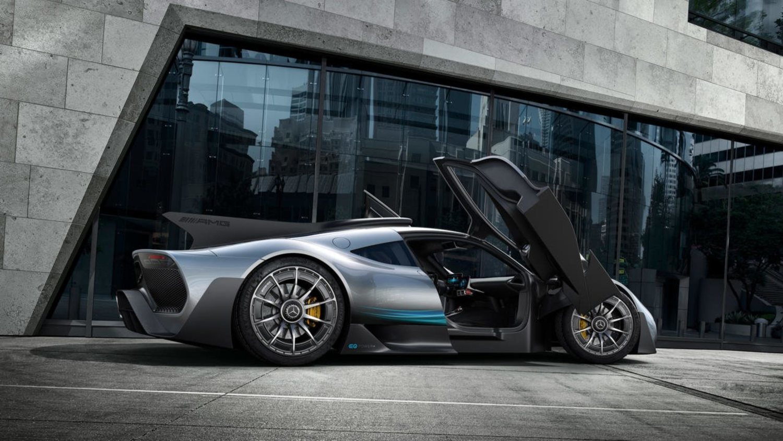 Lewis Hamilton deberá hacerle hueco en el garaje al nuevo hypercar de Mercedes, el Mercedes AMG Project ONE