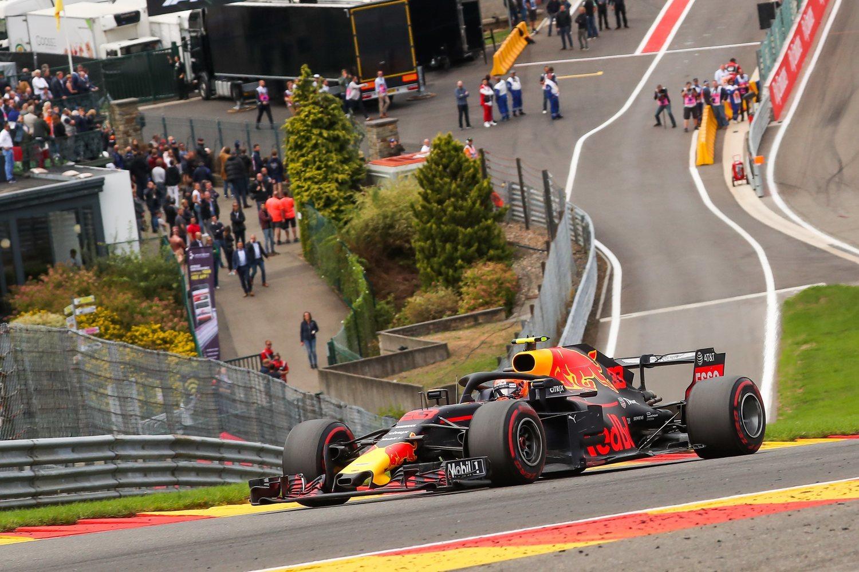 Max Verstappen en el Gran Premio de Bélgica