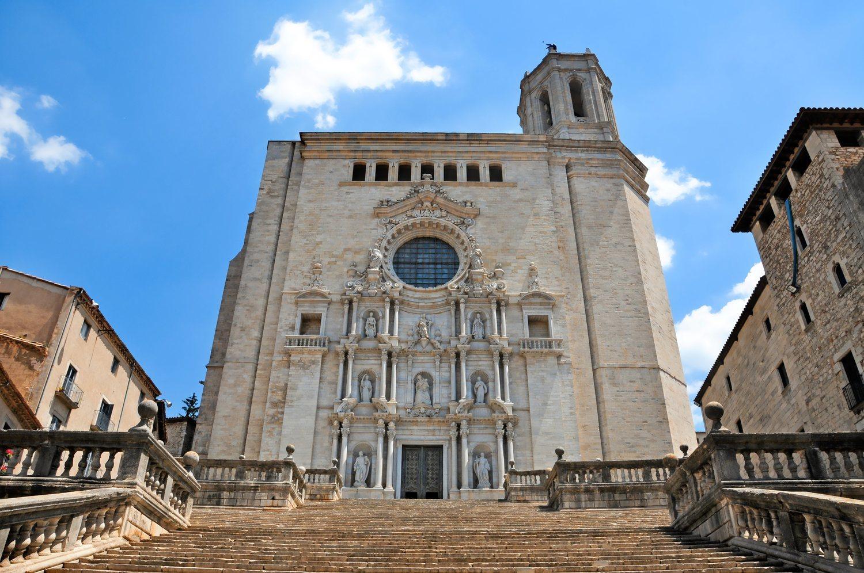 La catedral de Girona fue empleada por HBO para recrear el Septo de Baelor.