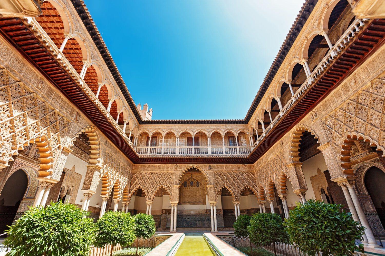 Un pedacito de Dorne se encuentra en el Alcázar de Sevilla. La residencia de los Martell se recreó allí.