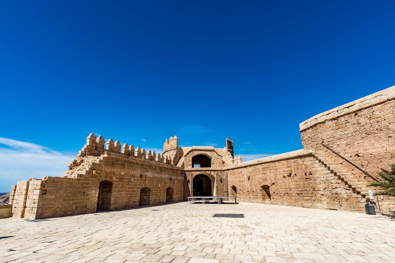 Parte de la ciudad de Dorne se recreó en la Alcazaba de Almería.