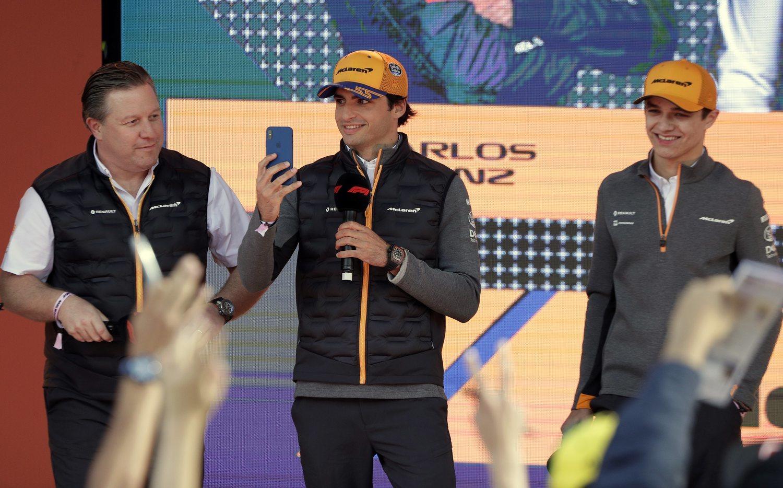 El buen rollo entre Carlos Sainz y Lando Norris, una de las claves de esta temporada.