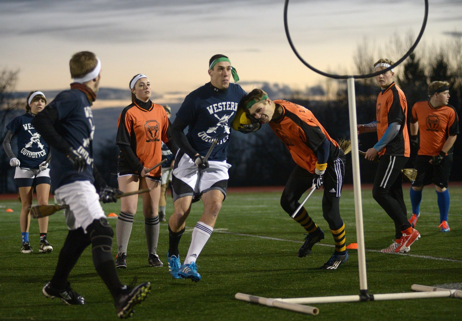 La pasión por Harry Potter ha hecho posible el Quidditch en la vida real.