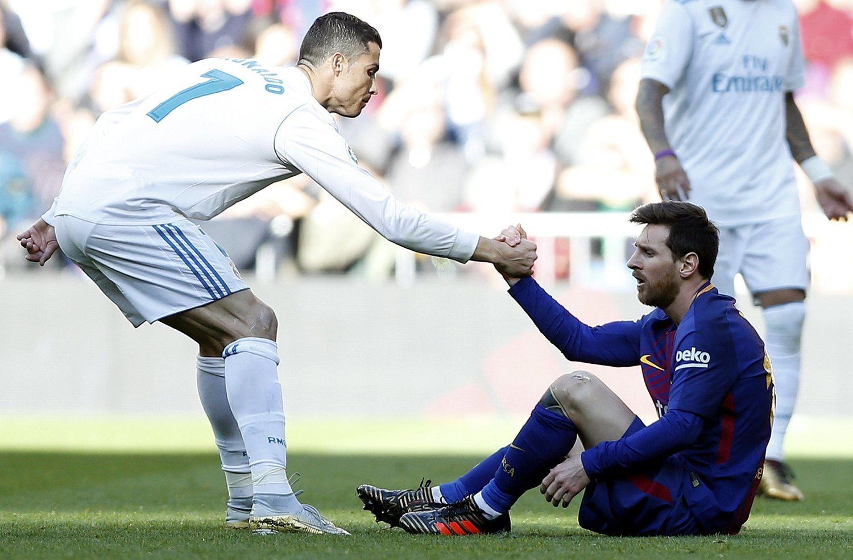 Cristiano Ronaldo y Lionel Messi figuran entre los 20 hombres más admirados en todos los países.