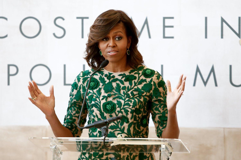 Michelle Obama sigue entre los primeros puestos a nivel mundial.