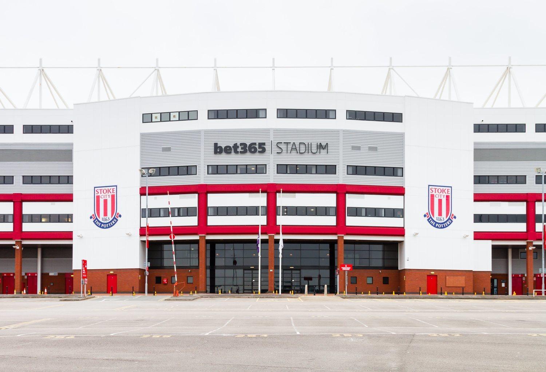La sede de la propia bet365 también se encuentra en Stoke.
