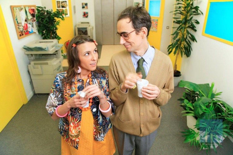 Bernardo y Cañizares eran la pareja más entrañable e infantil de la serie