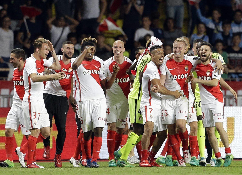 El Mónaco hizo historia al ganar la Ligue One en 2017.