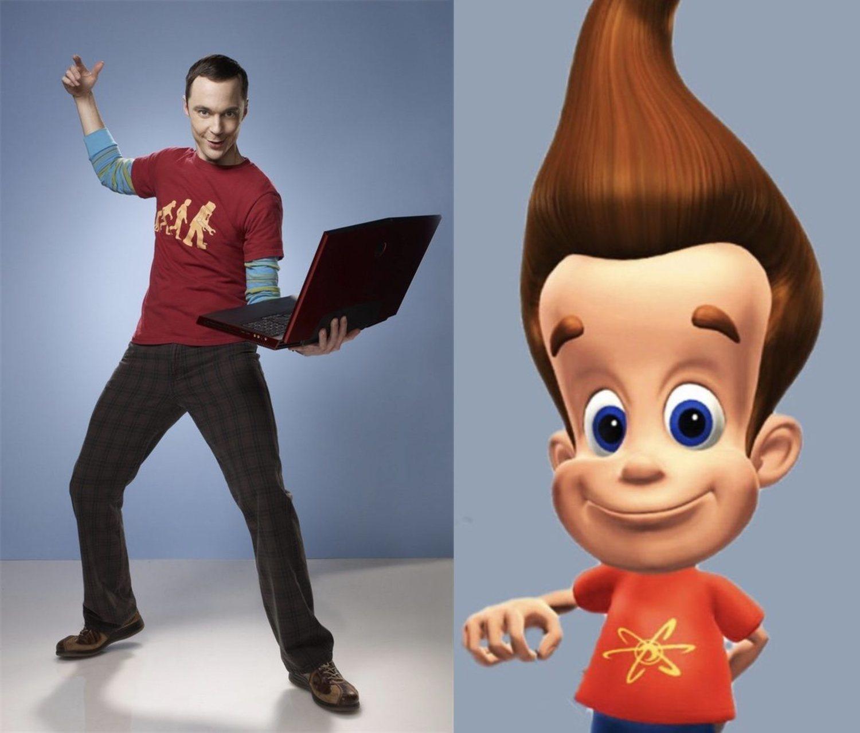 ¿Se inspirarían en Jimmy Neutrón para hacer a Sheldon Cooper?
