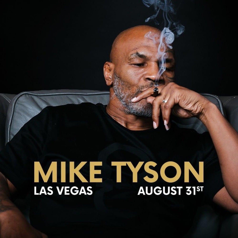 Tyson ha cambiado los guantes por los cigarrillos de la risa.