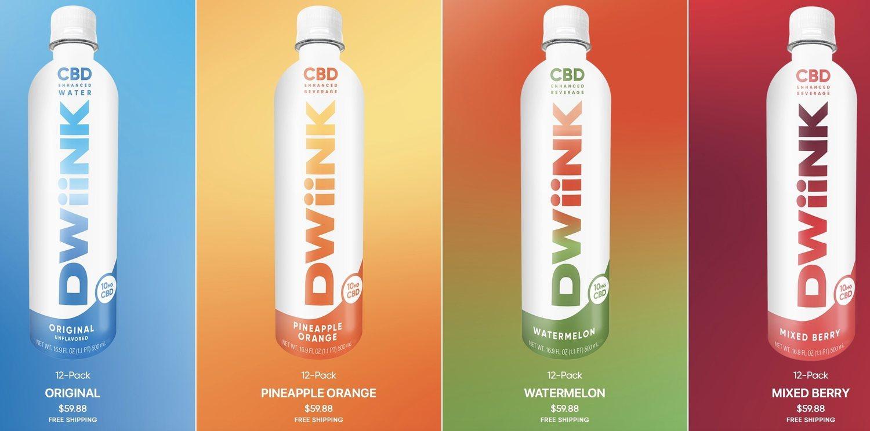 Todas las botellas Dwiink.