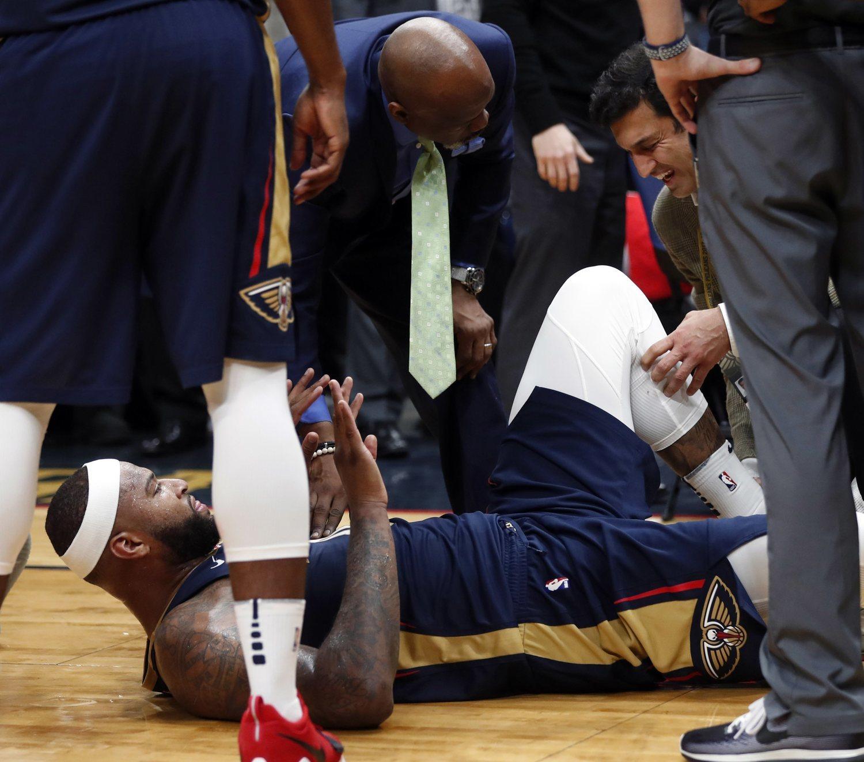 La lesión que sufrió en New Orleans Pelicans lo cambió todo.