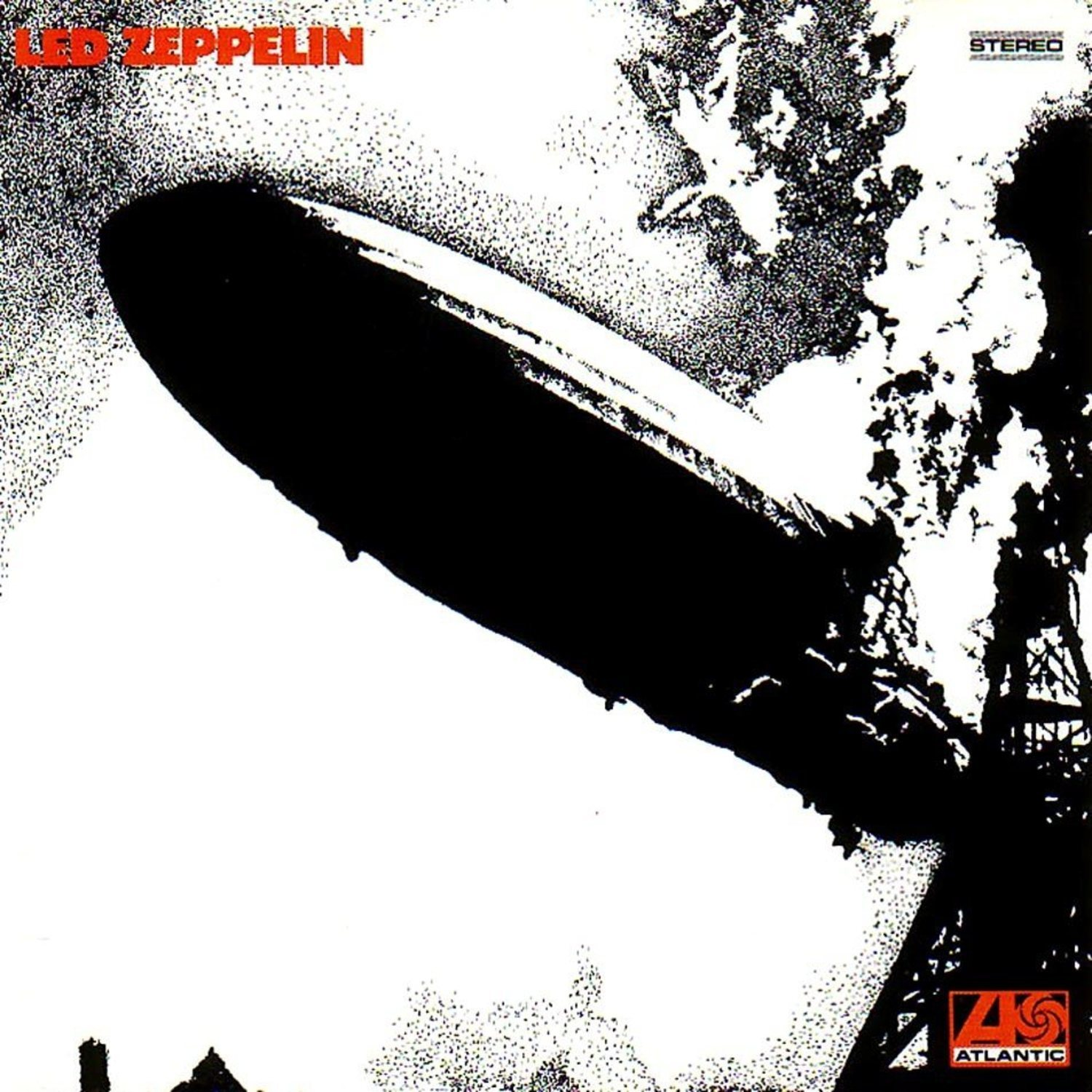 Portada de 'Led Zeppelin I', el álbum debut de Led Zeppelin.