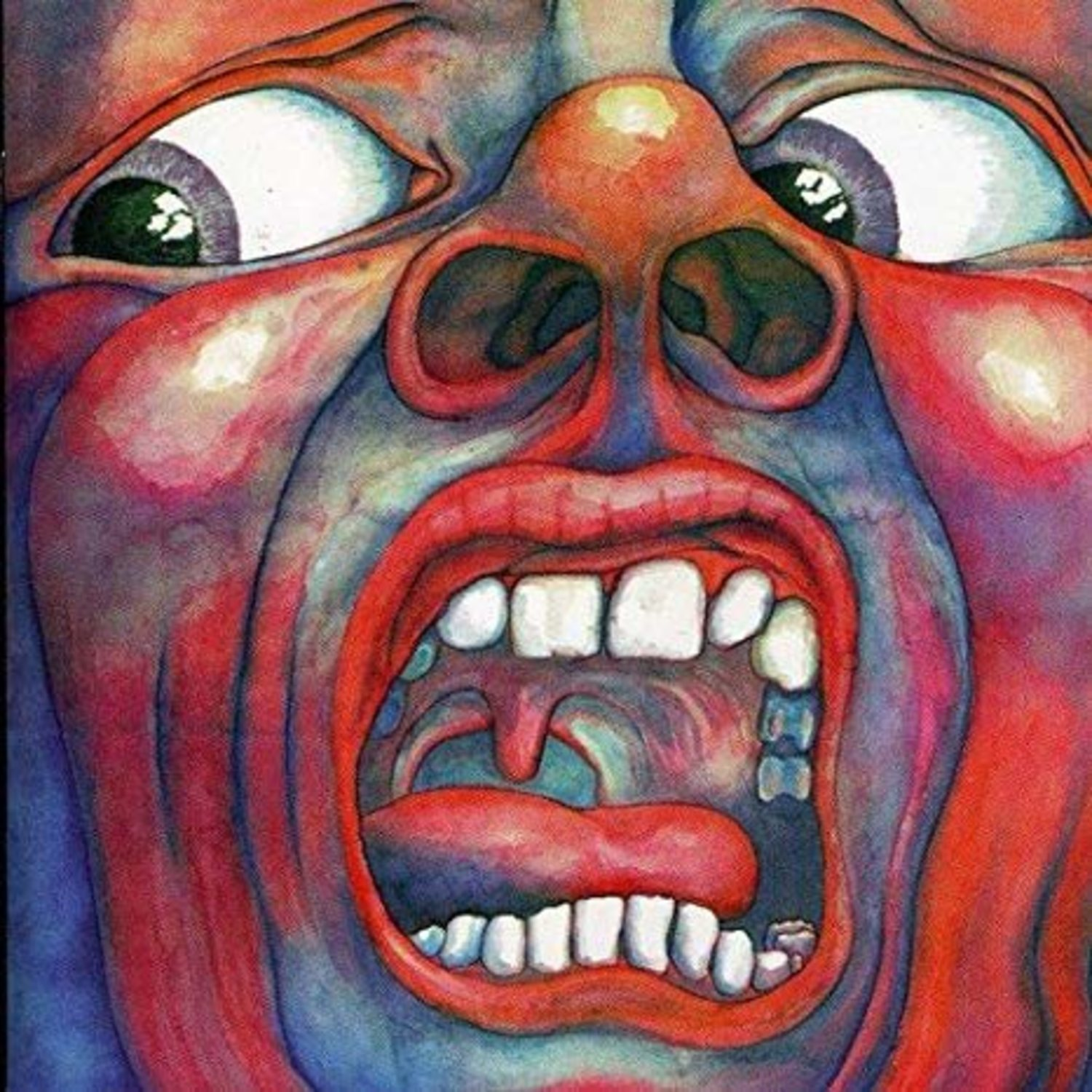 Portada de 'In the Court of the Crimson King', de King Crimson.