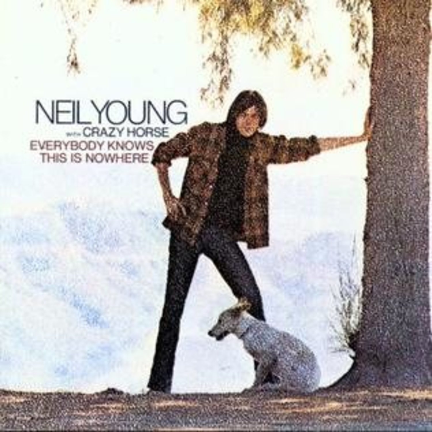 Portada de 'Everybody Knows This is Nowhere', de Neil Young & Crazy Horse.