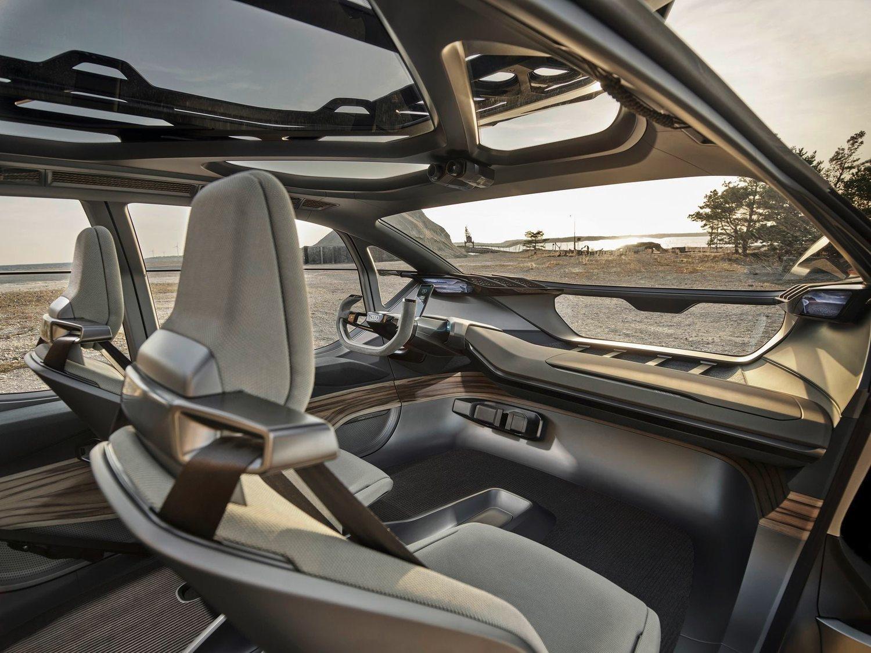 Interior del Audi AI: TRAIL.