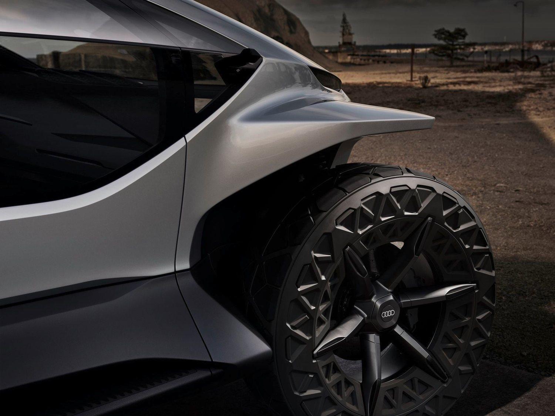 Rueda de 22 pulgadas del Audi AI: TRAIL.