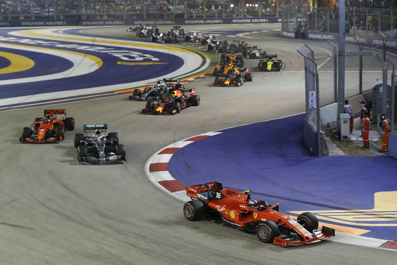 Vettel logró el triunfo en una interesante carrera.