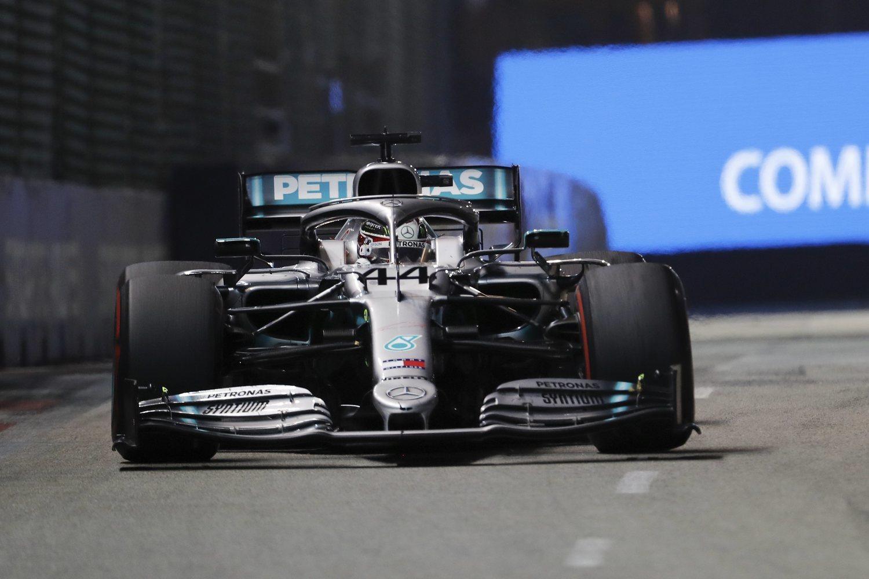 A pesar de que Lewis Hamilton lleva tres carreras sin ganar, su Mundial está prácticamente asegurado.