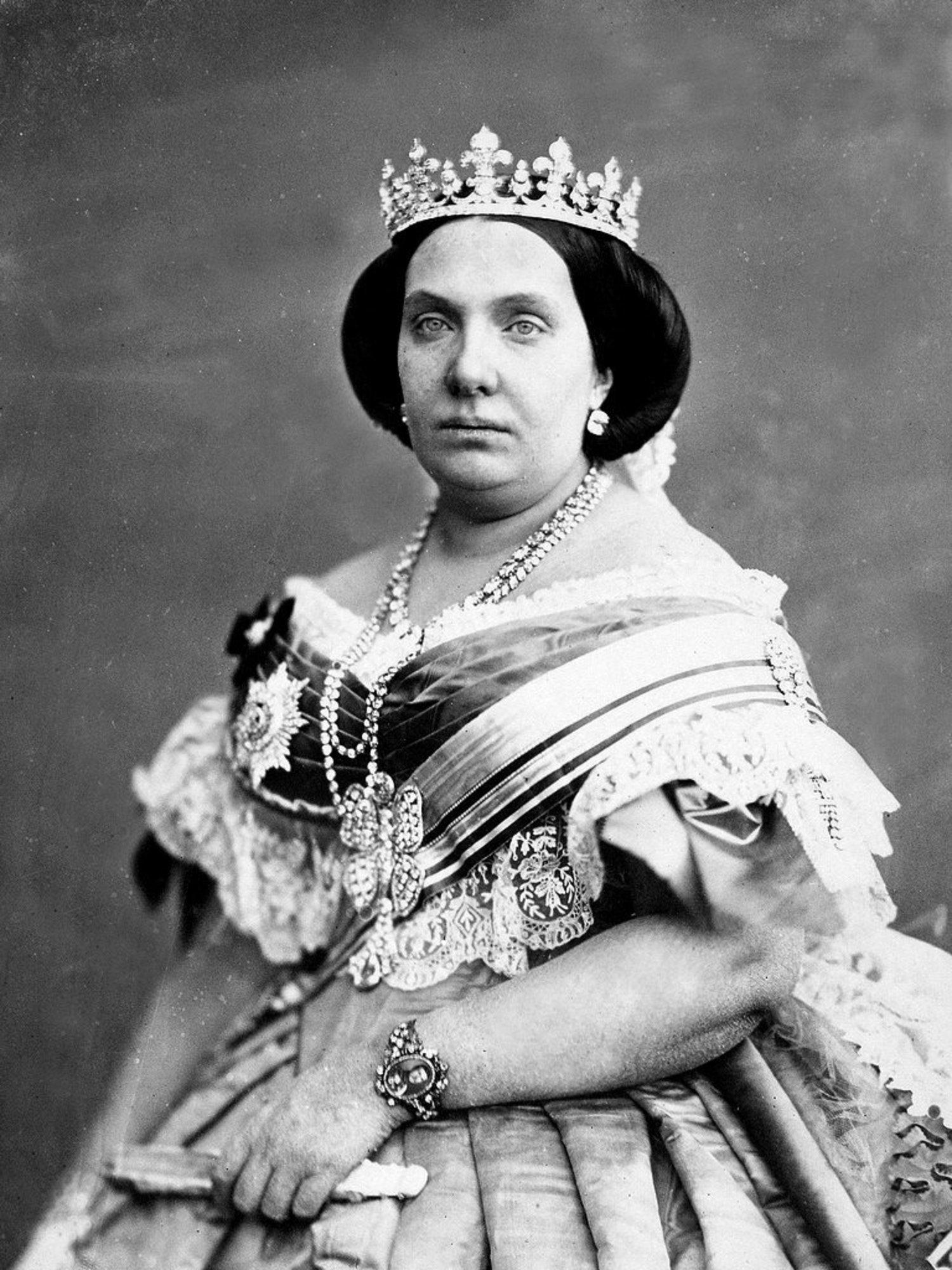 Isabel II, conocida por muchos como la