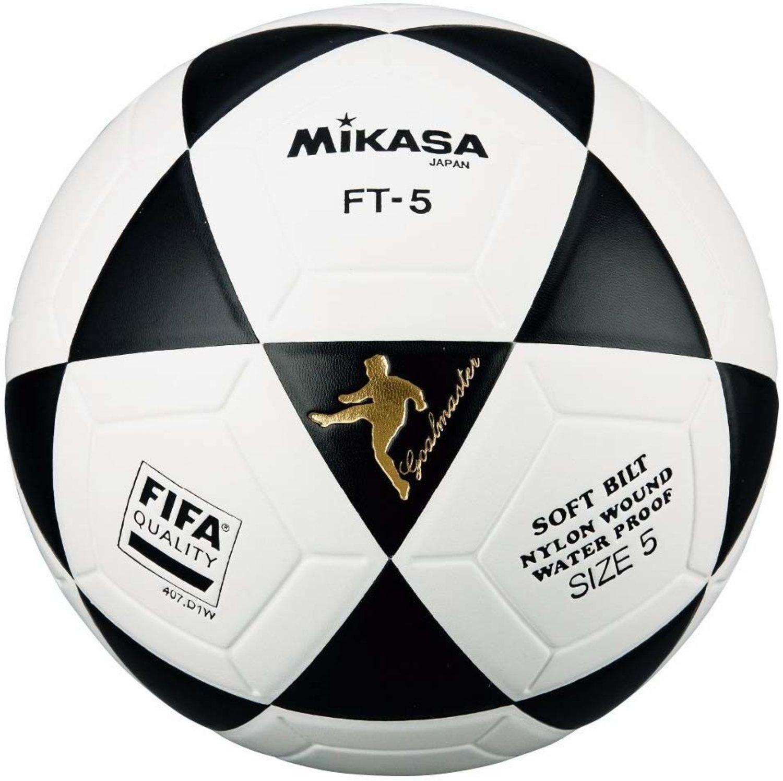 Mikasa FT-5, un balón duro que lo aguantaba todo.