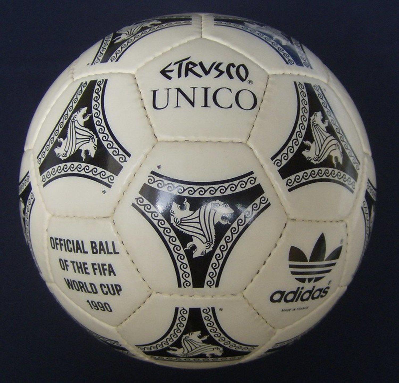 Adidas Etrusco, el balón que consiguió la impermeabilización total.
