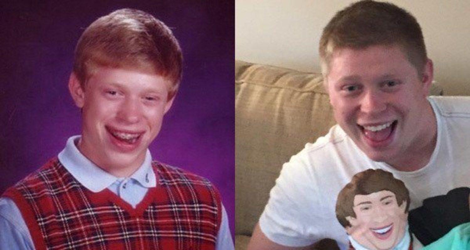 Kyle Craven, antes y ahora.