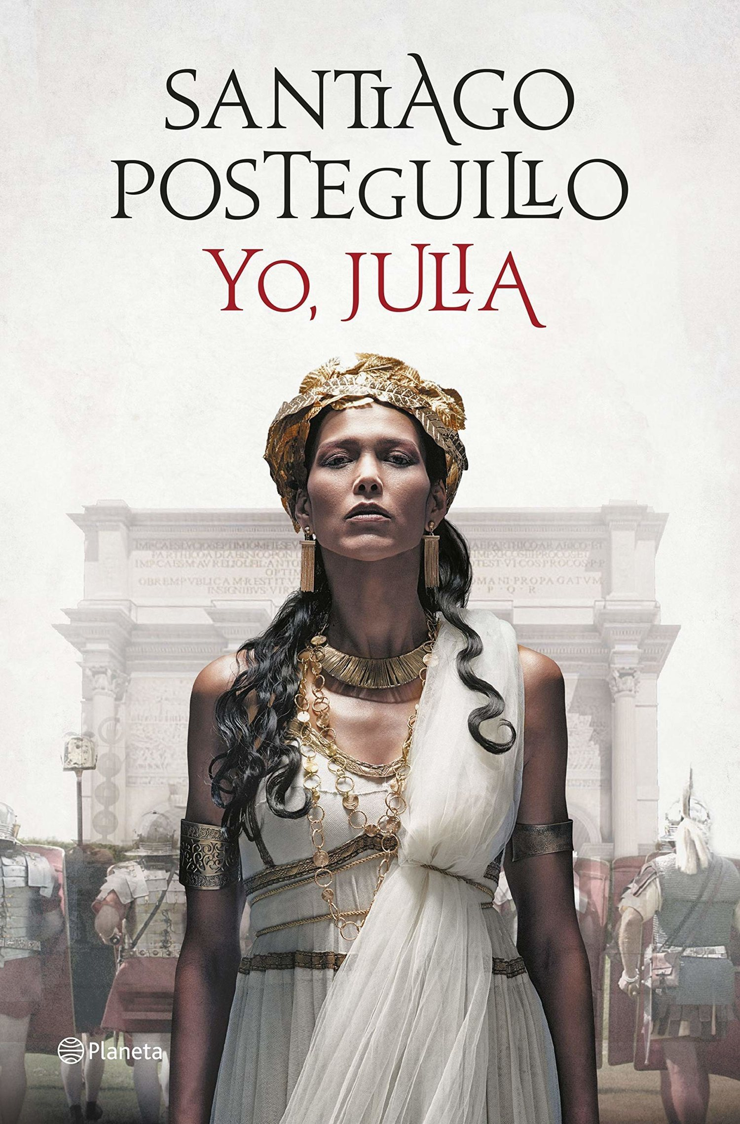 Yo, Julia de Santaigo Posteguillo.