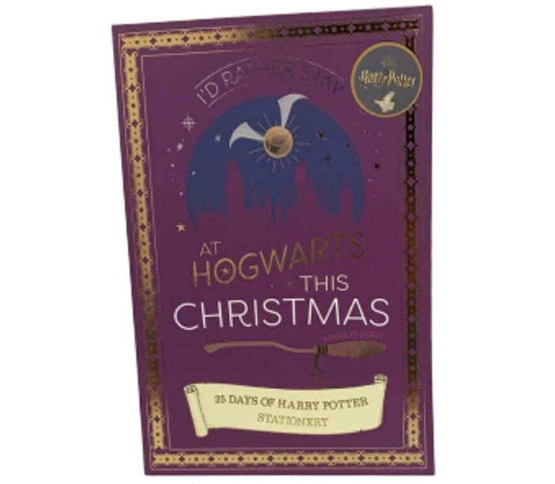 Calendario adviento de Harry Potter.