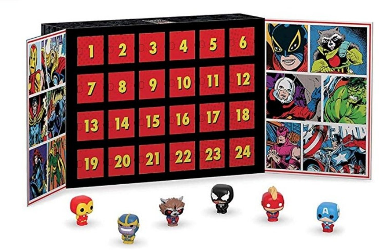 Calendario adviento Marvel.