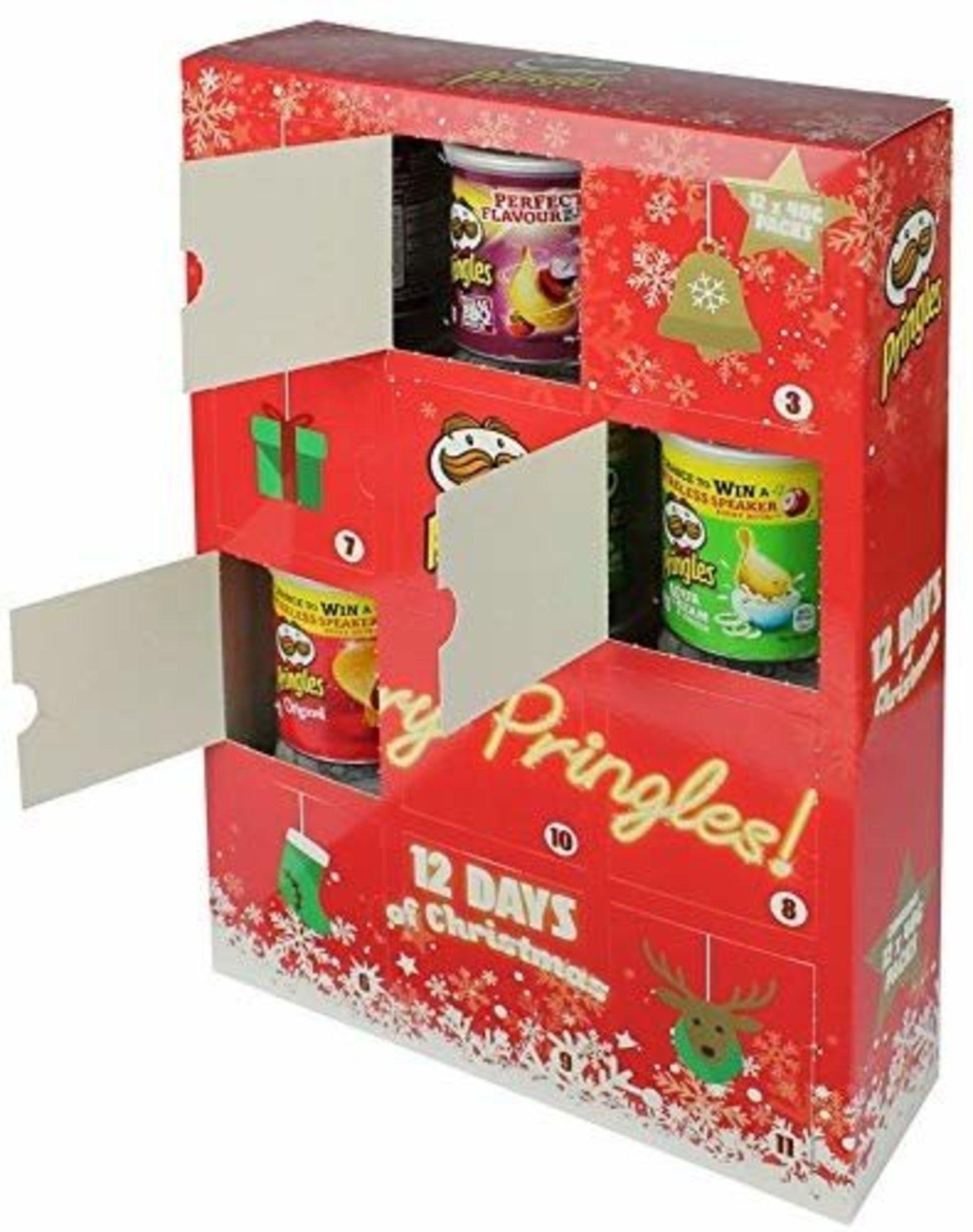 Calendario adviento Pringles.