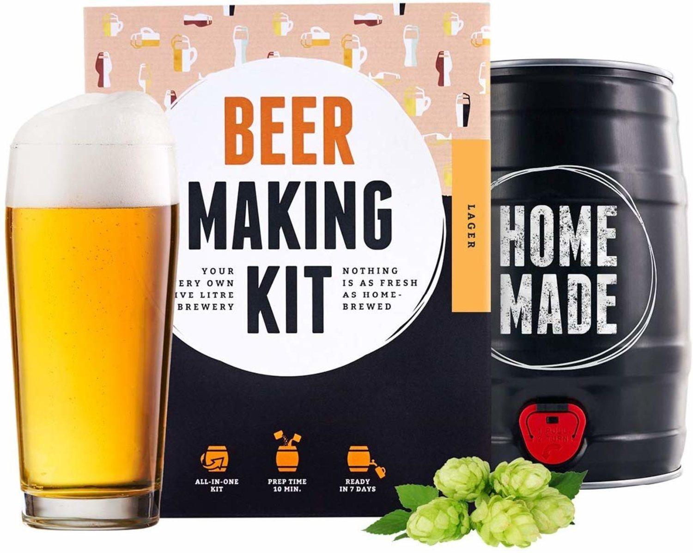 Beer Making.