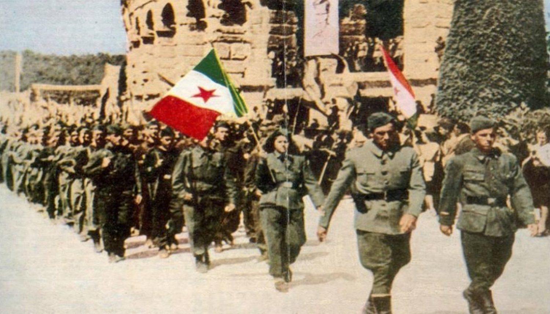 Los partisanos italianos fueron clave para derrocar a Mussolini en la IIGM.