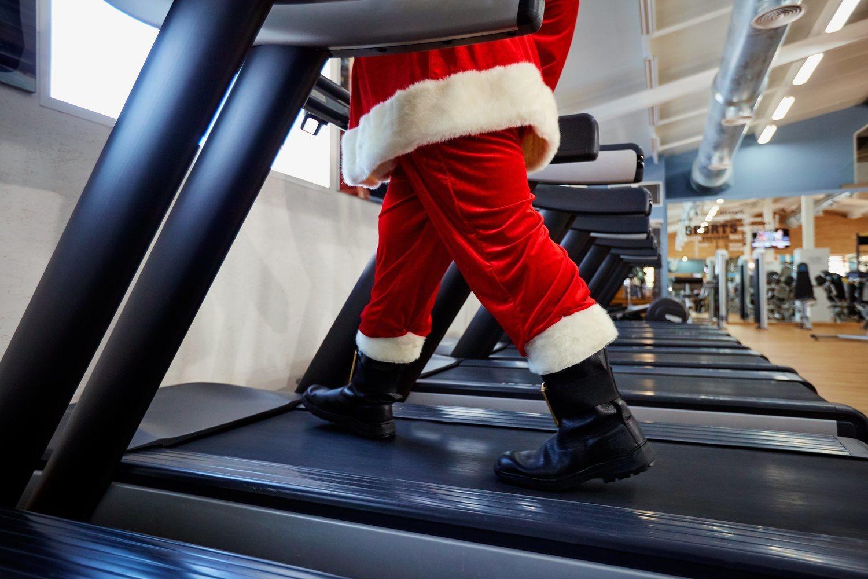 Hacer 20 minutos diarios de ejercicio ayudará a evitar engordar.