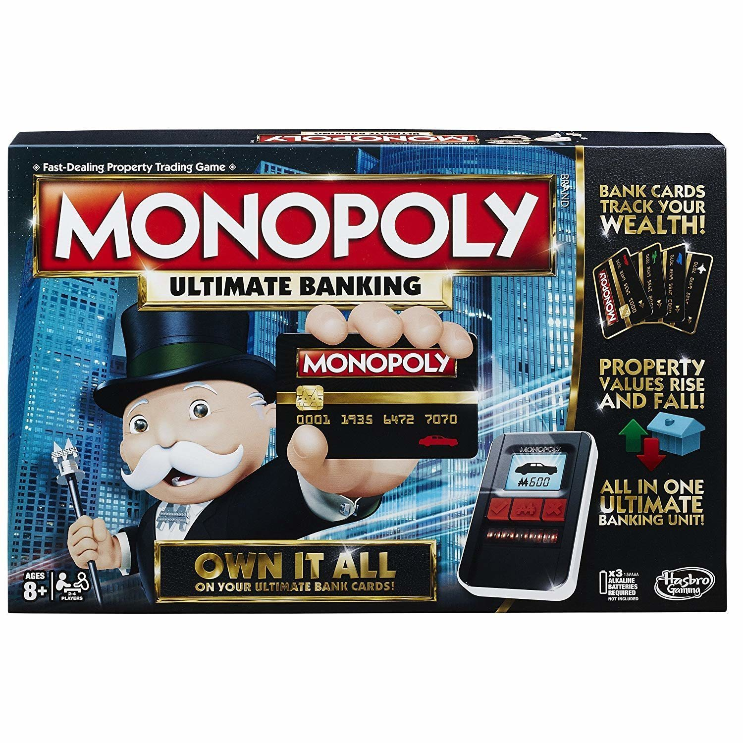 Monopoly: Ultimate Banking.