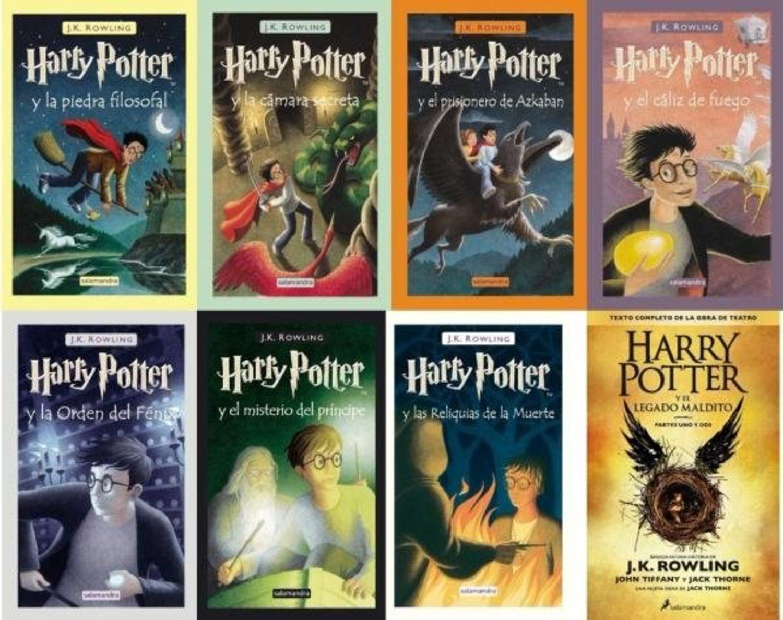 Saga 'Harry Potter'.