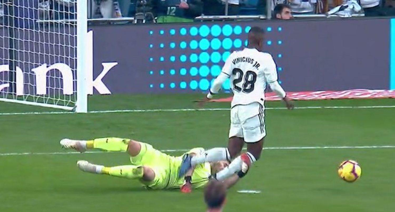 El famoso penalti a Vinicius.