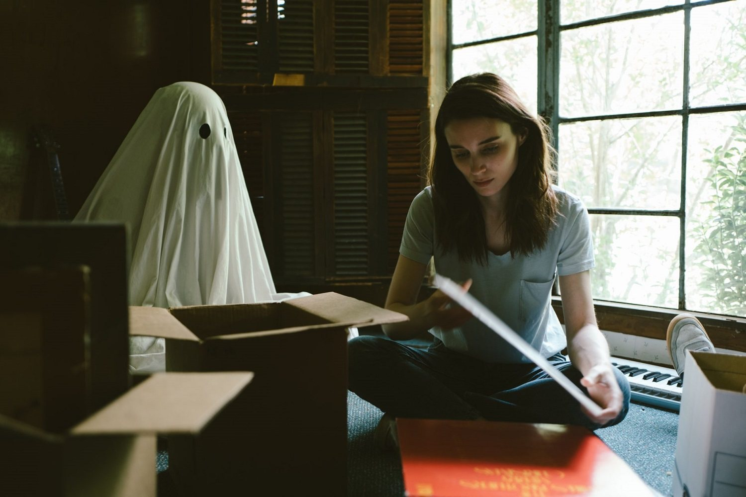 'A ghost story', de David Lowery.