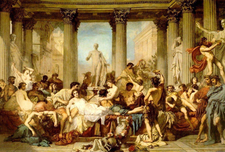 Las Saturnales eran una fiesta de descontrol.