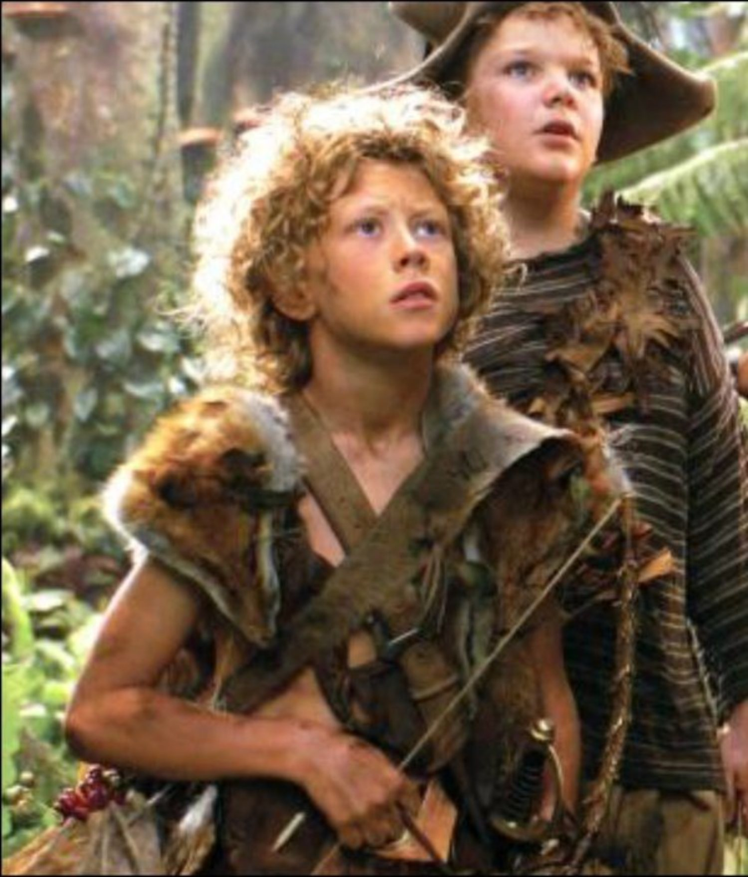 George Mackay fue un niño perdido en Peter Pan.
