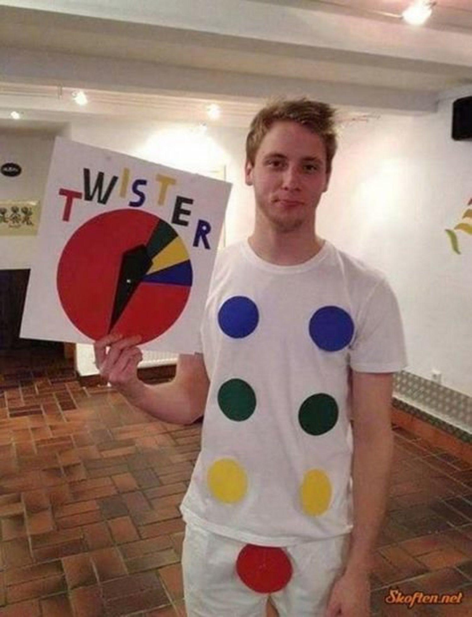 Un divertido disfraz de Twister.