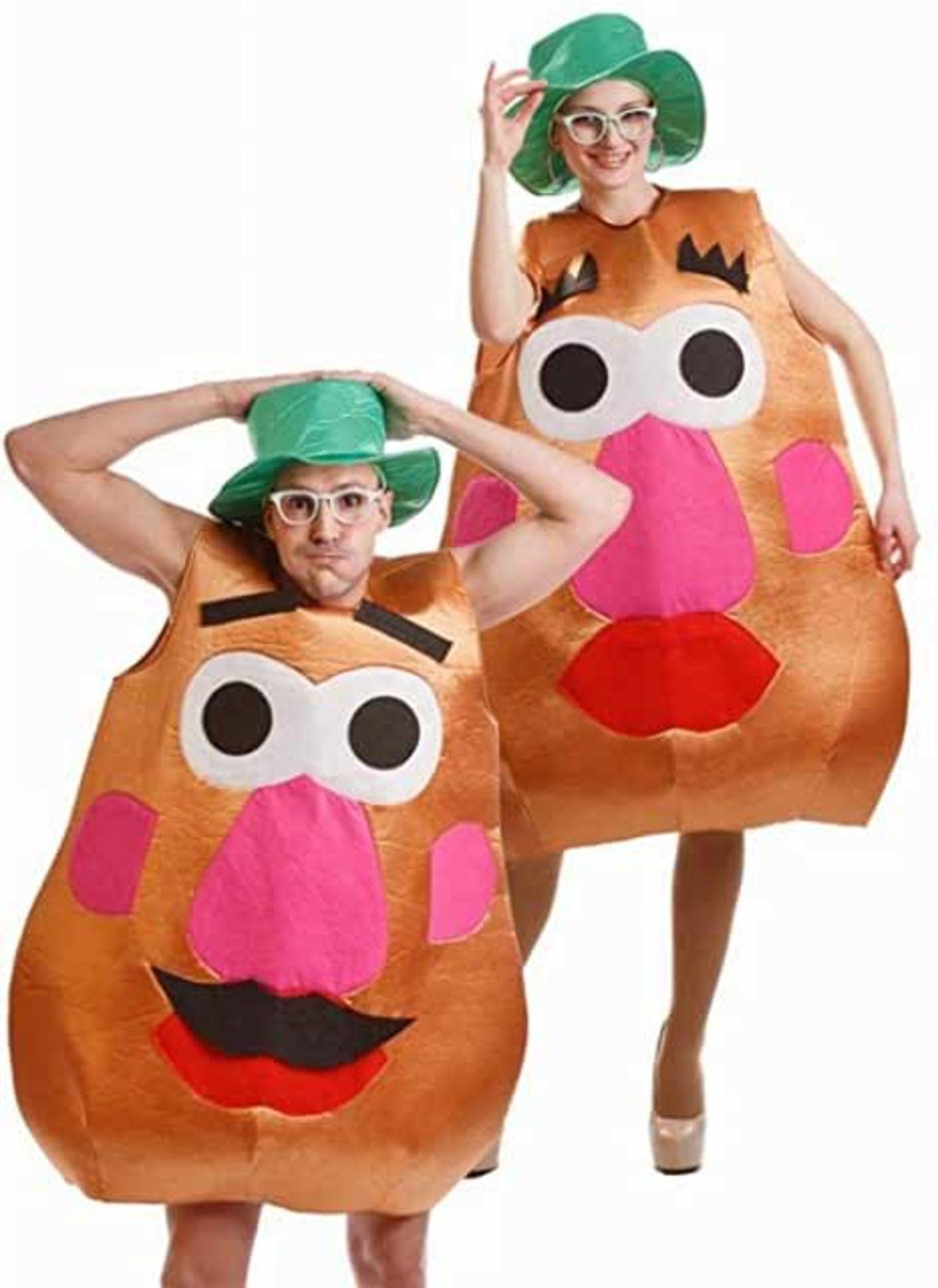Disfraz de Señor y Señora Potato.