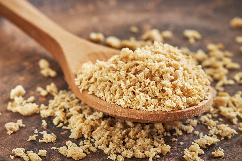 Uno de los alimentos de origen vegetal más utilizados por su gran fecha de caducidad y parecido a la carne picada.
