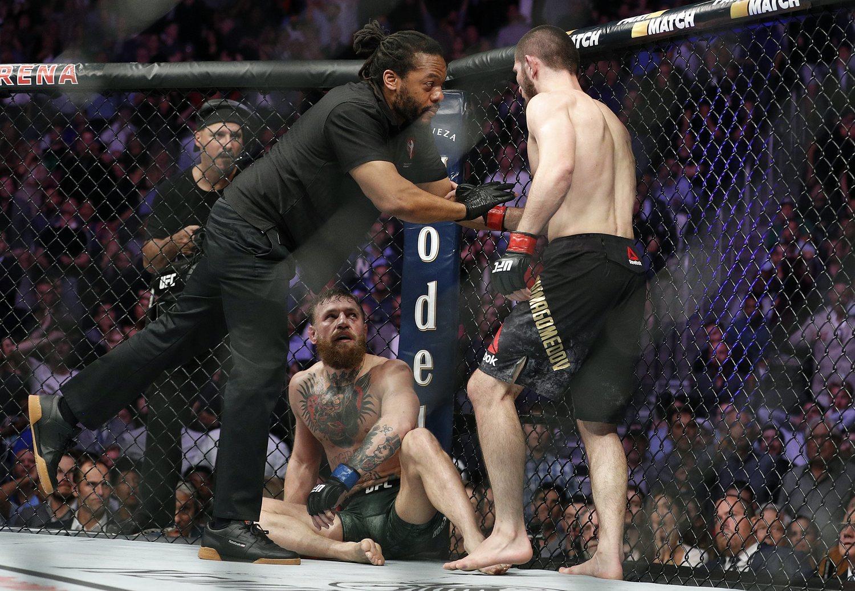 'Nurma' le dijo de todo a McGregor una vez consiguió la victoria.