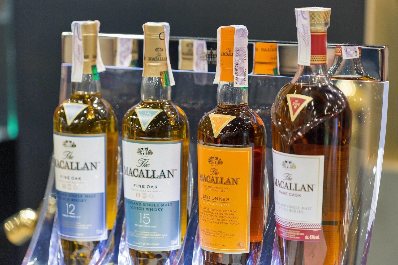 El whisky Macallan, uno de los más caros del mundo.
